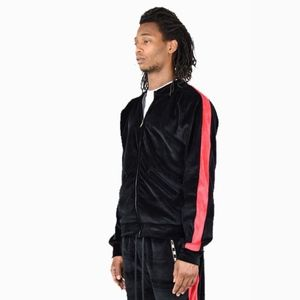 Enslaved Velour Track Jacket Size M